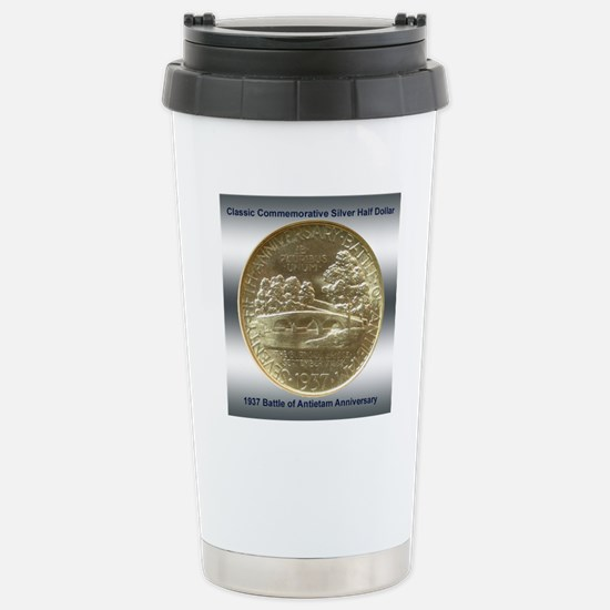 Battle of Antietam Half Stainless Steel Travel Mug