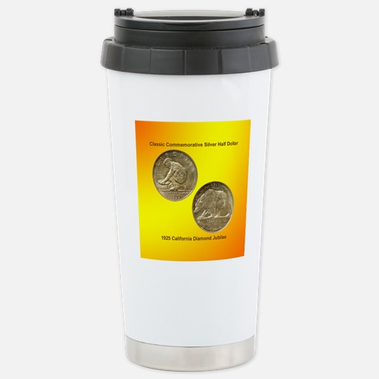 California Diamond Jubi Stainless Steel Travel Mug