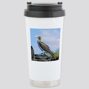 blue footed booby mouse Stainless Steel Travel Mug