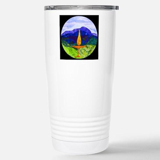 Mountains Chalice Cir Stainless Steel Travel Mug