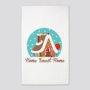Home Sweet Home 3'x5' Area Rug