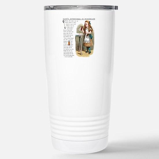 Alice in Wonderland Dri Stainless Steel Travel Mug