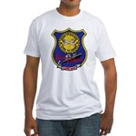 USS LEWIS AND CLARK Fitted T-Shirt