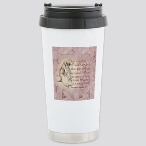 Northanger Abbey Quote Stainless Steel Travel Mug