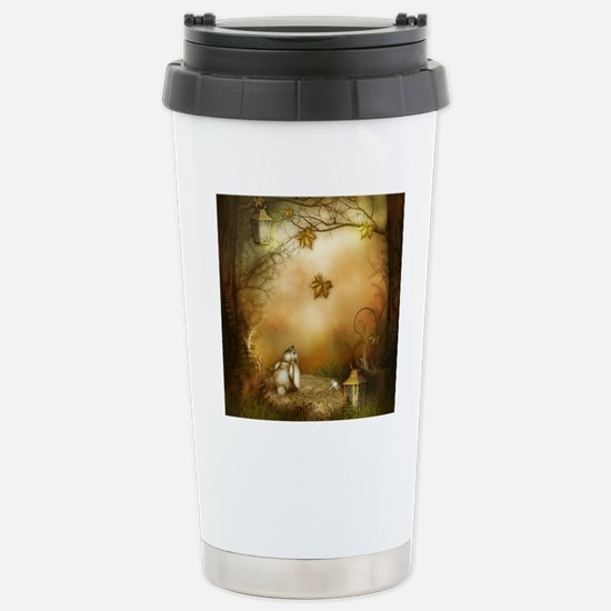Fairy Woodlands 1 Stainless Steel Travel Mug