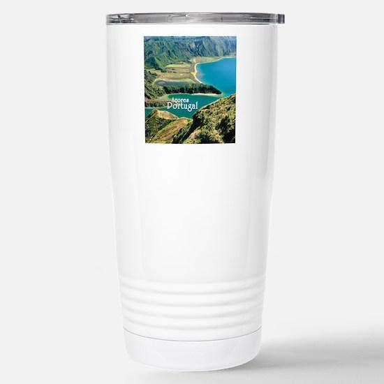 Lagoa do Fogo Stainless Steel Travel Mug