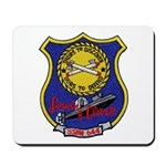 USS LEWIS AND CLARK Mousepad