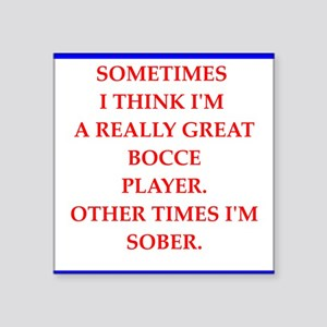 bocce Sticker