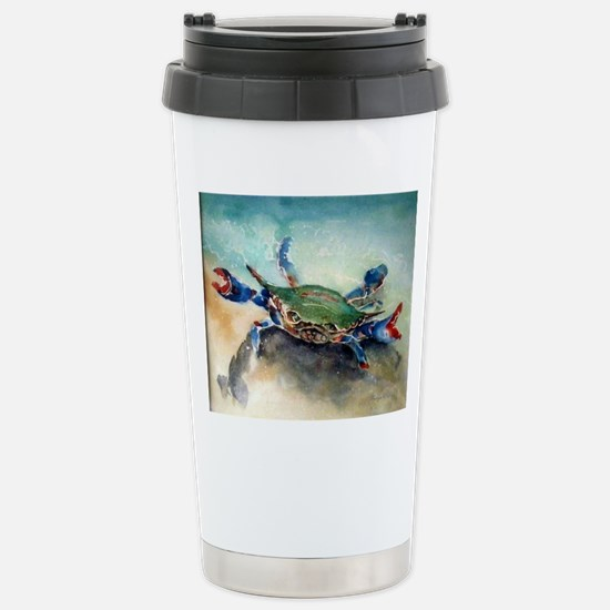 The Blue Crab Stainless Steel Travel Mug