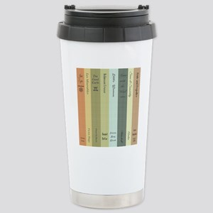 Book Lovers Personalize Stainless Steel Travel Mug