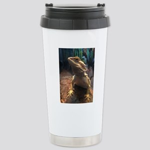 Bearded Dragon Stainless Steel Travel Mug