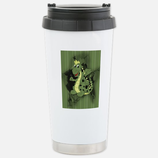 cd_puzzle Stainless Steel Travel Mug