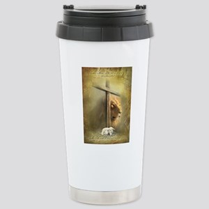 Lion of Judah, Lamb of  Stainless Steel Travel Mug