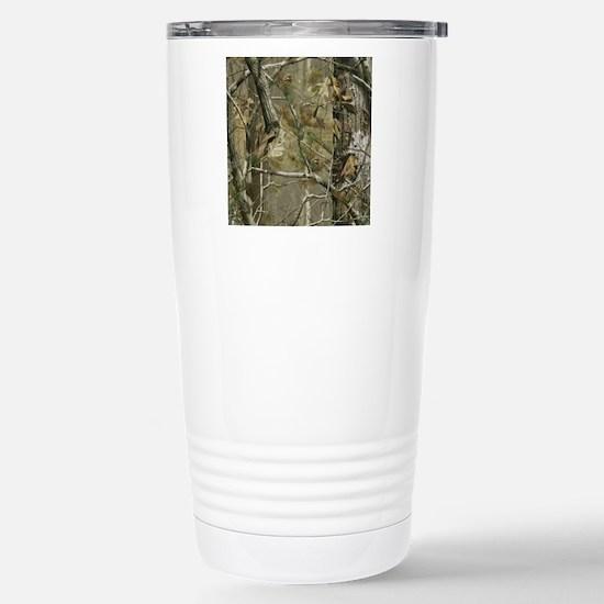 Realtree Camo Stainless Steel Travel Mug