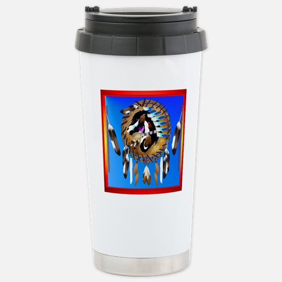 Spiritual Horse Stainless Steel Travel Mug
