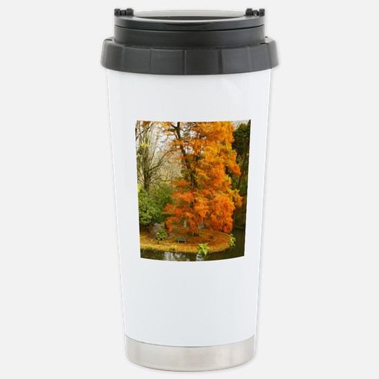 Willow in Autumn colors Stainless Steel Travel Mug