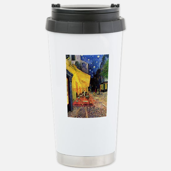 Van Gogh, Cafe Terrace  Stainless Steel Travel Mug