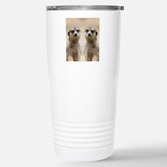 Meerkat Stainless Steel Travel Mug