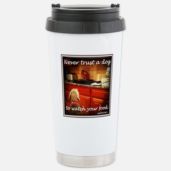 Food Watcher Stainless Steel Travel Mug