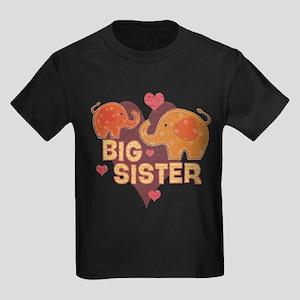 Big Sister - Baby elephants T-Shirt