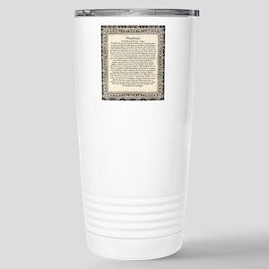 Olde Goth Design Deside Stainless Steel Travel Mug