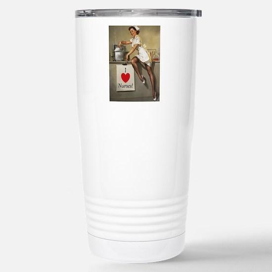 Nifty Nurse Stainless Steel Travel Mug