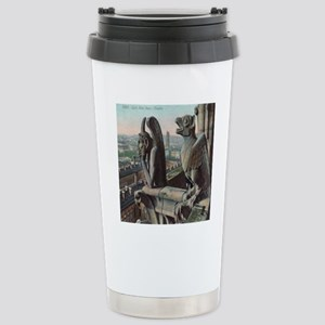 Gargoyles of Notre Dame Stainless Steel Travel Mug
