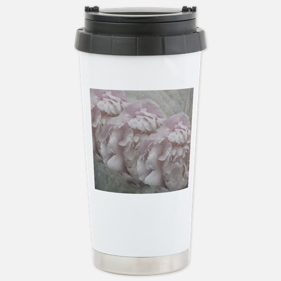 Petals and Lace Stainless Steel Travel Mug