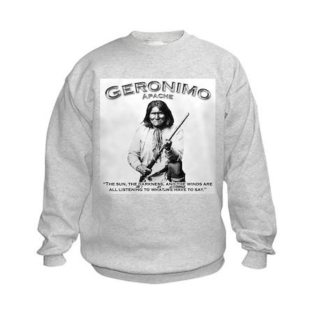 Geronimo 01 Kids Sweatshirt