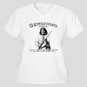 Geronimo 01 Women's Plus Size V-Neck T-Shirt