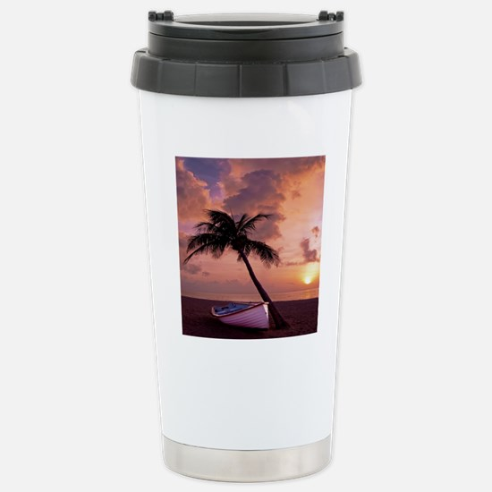 Beach Sunset4799SQ Stainless Steel Travel Mug