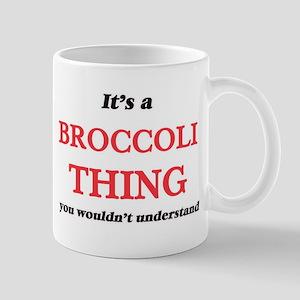 It's a Broccoli thing, you wouldn't u Mugs