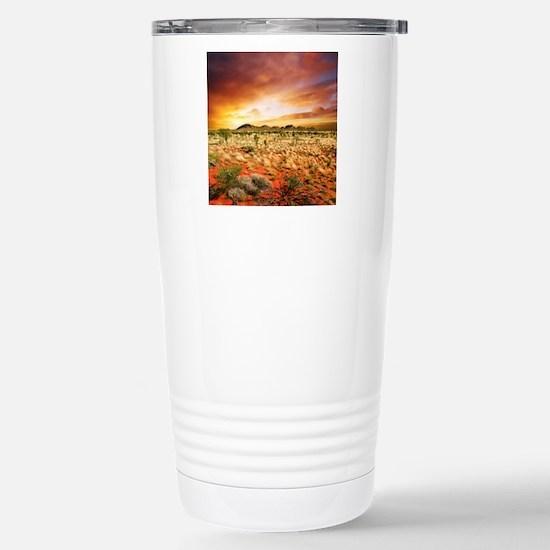 Australian Sunset Stainless Steel Travel Mug