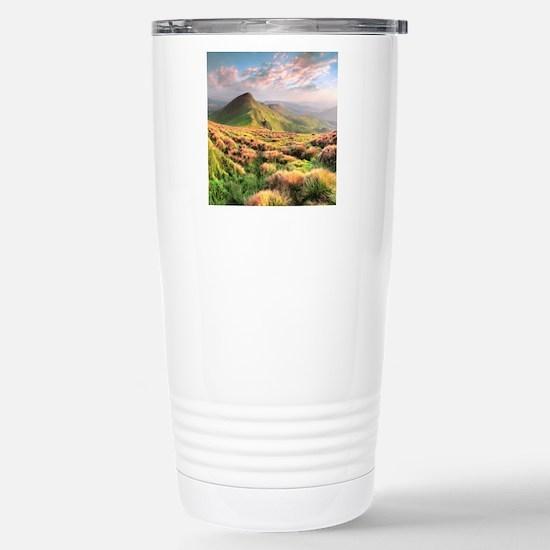 Mountain Sunrise Stainless Steel Travel Mug