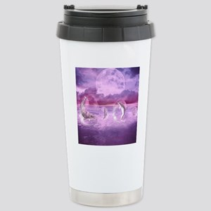 Dream Of Dolphins Stainless Steel Travel Mug
