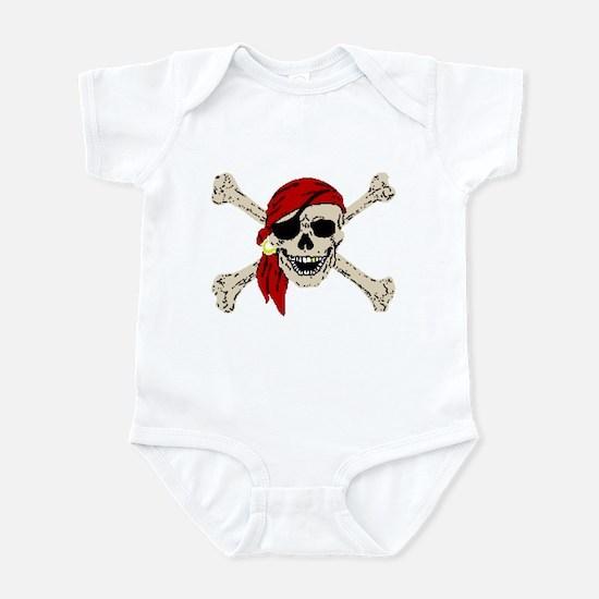 Pirate Skull Infant Bodysuit