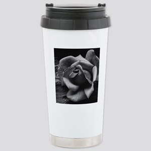 Ansel Adams Rose And Dr Stainless Steel Travel Mug