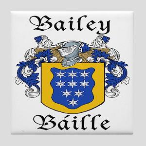Bailey in Irish/English Tile Coaster