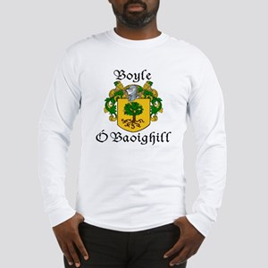 Boyle in Irish/English Long Sleeve T-Shirt