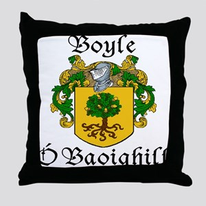 Boyle in Irish/English Throw Pillow