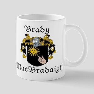 Brady in Irish/English Mug