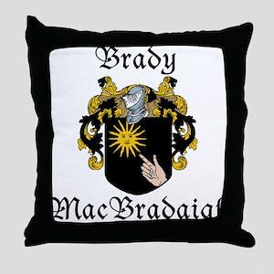 Brady in Irish/English Throw Pillow