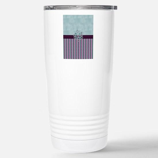 Elegant Peacock Jewel o Stainless Steel Travel Mug