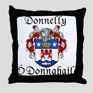 Donnelly In Irish & English Throw Pillow