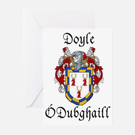 Doyle In Irish & English Cards (Pk of 10)
