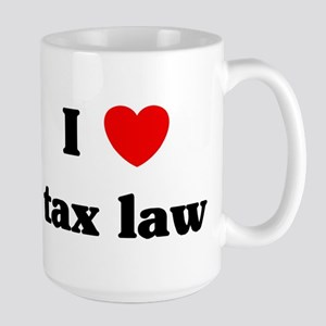 I Love tax law Mugs
