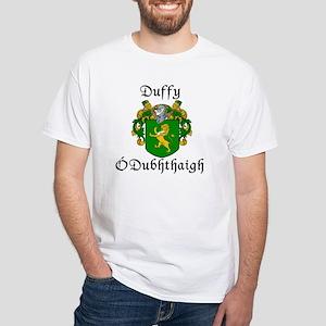 Duffy in Irish & English White T-Shirt