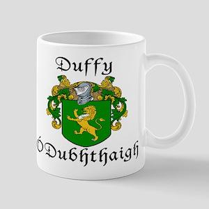 Duffy in Irish & English Mug