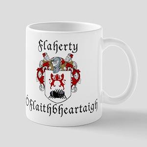 Flaherty In Irish & English Mug