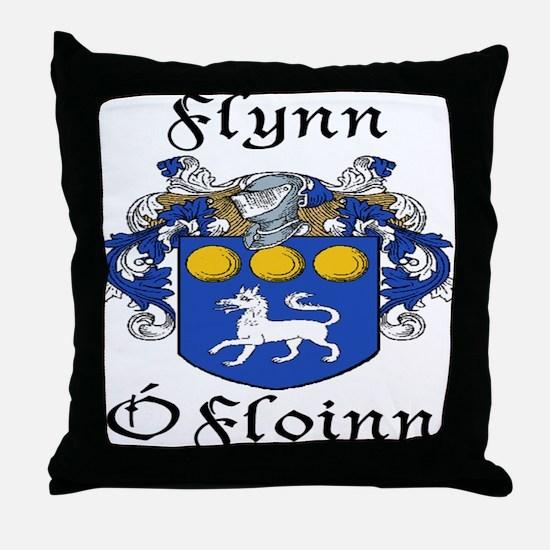 Flynn In Irish & English Throw Pillow